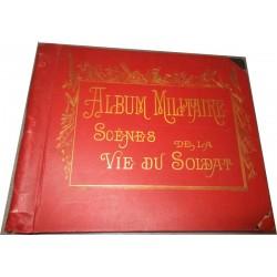 Album militaire, scènes de...