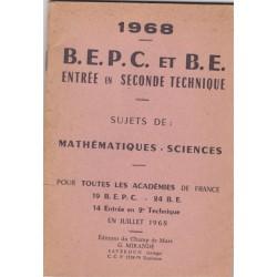 B.E.P.C. et Brevet d'Etudes...