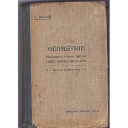 Géométrie enseignement...