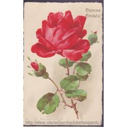 Bonne année, une rose, 1928...