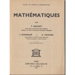 Mathématiques 1948 classe...