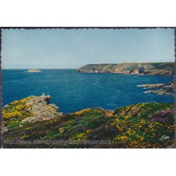 Le Cap Fréhel, la côte vue...
