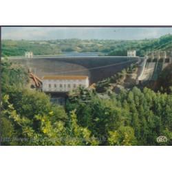 Le déversoir du barrage...