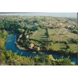 La Creuse et le village du...