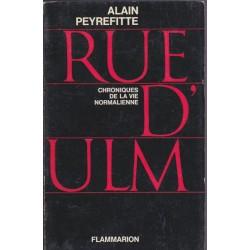 Rue d'Ulm, Alain...