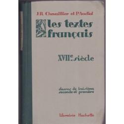 Les textes français XVIIe...