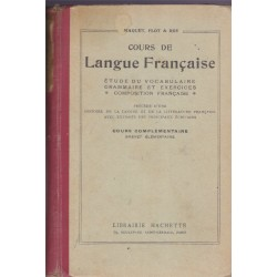 Cours de langue française,...