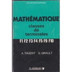 Mathématique  classe de...