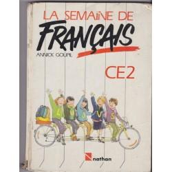 La semaine de français CE2...