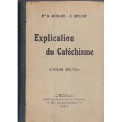 Explication du catéchisme,...