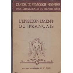 L'enseignement du français,...