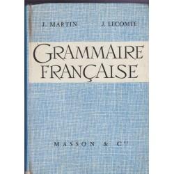 Grammaire française, Martin...