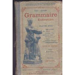 Grammaire enfantine, Claude...