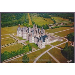 Chambord, le château, vue...