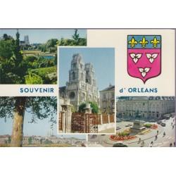 Orléans, multi-vues - carte...