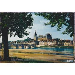 Gien, le pont sur la Loire...