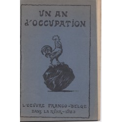 Un an d'occupation,...