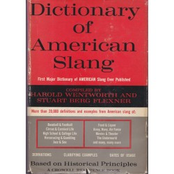 Dictionnary of american...