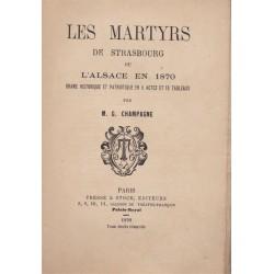Les martyrs de Strasbourg,...