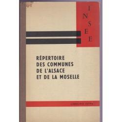 Répertoire des communes de...