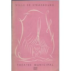 Programme Théâtre Municipal...