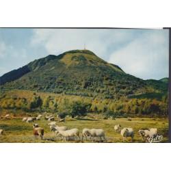 Le Puy de Dôme - carte...