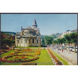 La Bourboule, square...