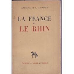 La France et le Rhin,...