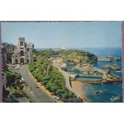 Biarritz, l'église...