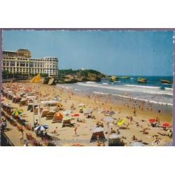 Biarritz, la grande plage...