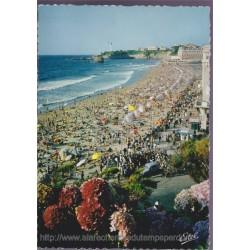 Biarritz, la grande plage,...