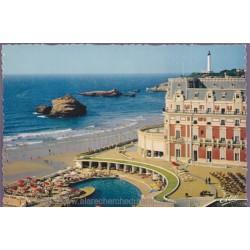Biarritz, l'hôtel du Palais...