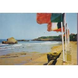 Biarritz, les drapeaux de...