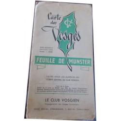 Carte des Vosges, feuille...