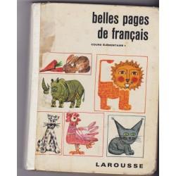 Belles pages de français,...