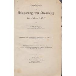 Belagerung von Strassburg...