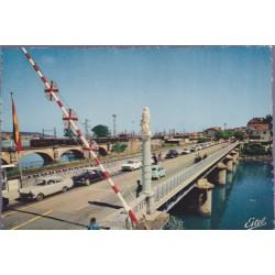 Hendaye, le pont, frontière...