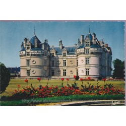 Le Lude, château - carte...
