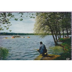 Saint-Ferréol, le lac -...