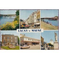 Lagny-sur-Marne - carte...