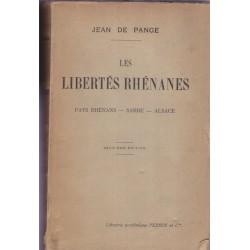 Les libertés rhénanes, pays...