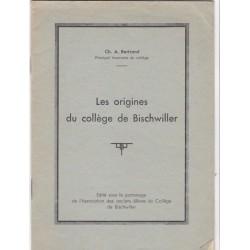 Les origines du collège de...