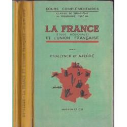La France, étude régionale,...