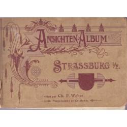Ansichten-Album Strassurg,...