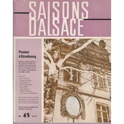 Saisons d'Alsace n°45,...