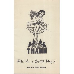 Thann, Fête du Gentil May...