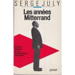 Les années Mitterrand,...