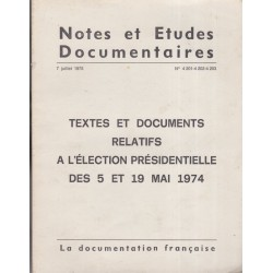 Textes et documents...
