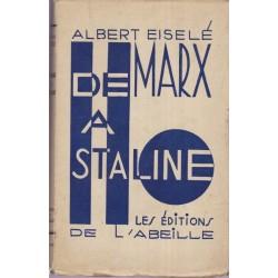 De Marx à Staline, Albert...