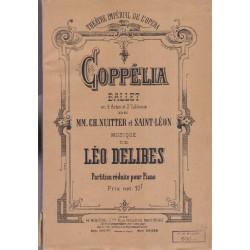 Coppélia, ballet de Nuitter...